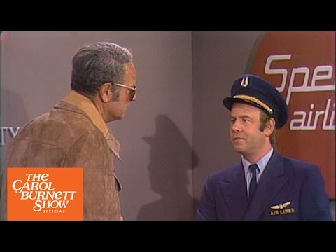 Airline Security From the Carol Burnett  Full Sketch