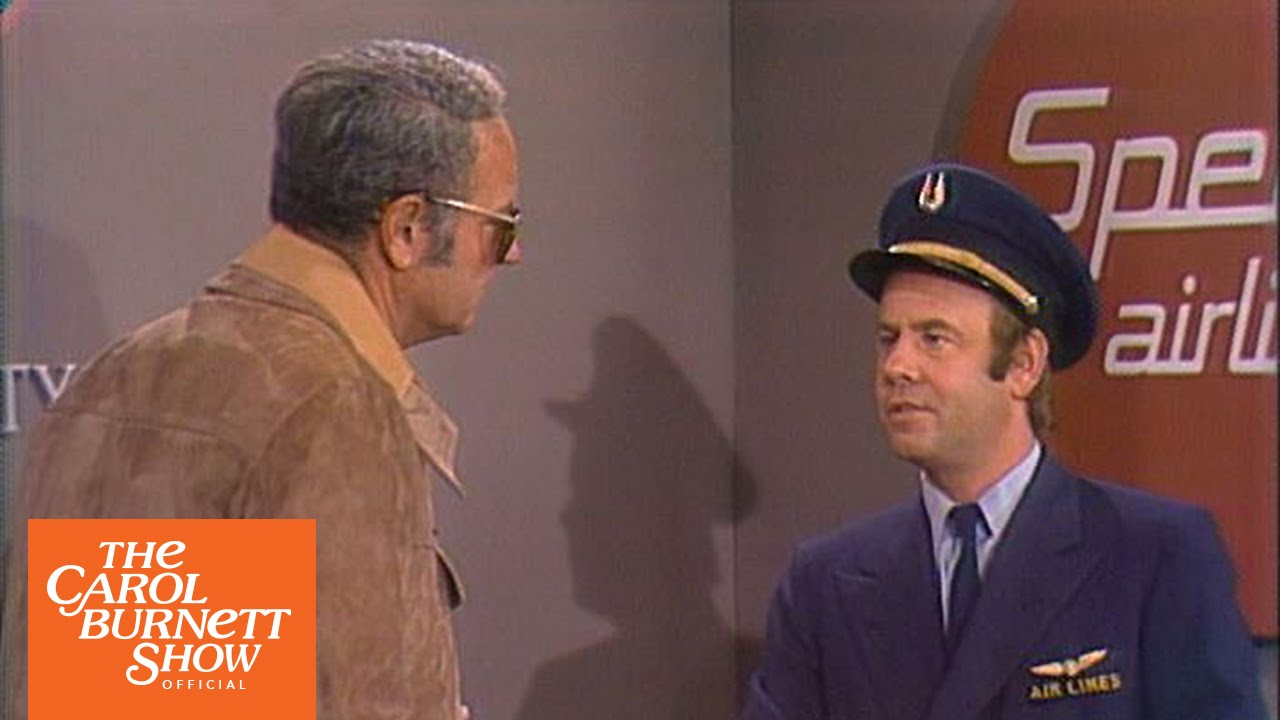Airline Security From The Carol Burnett Show Full Sketch