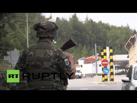 Bulgaria: Soldiers deployed to block refugees at Macedonian border