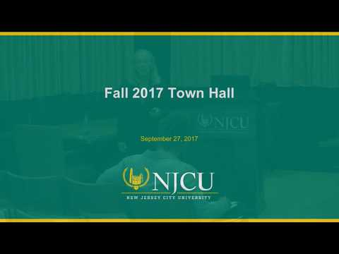 NJCU Town Hall Meeting Fall 2017