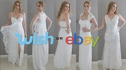 WISH OR EBAY? 5 DRESSES UNDER $25 | skip2mylou