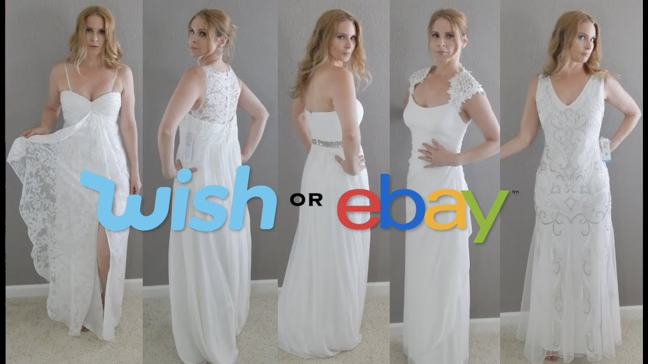 WISH OR EBAY 5 DRESSES UNDER 25