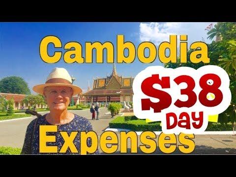 Cambodia expense one month $38.A Day Cambodia    Battambang, Phnom Penh,Siem Reap,