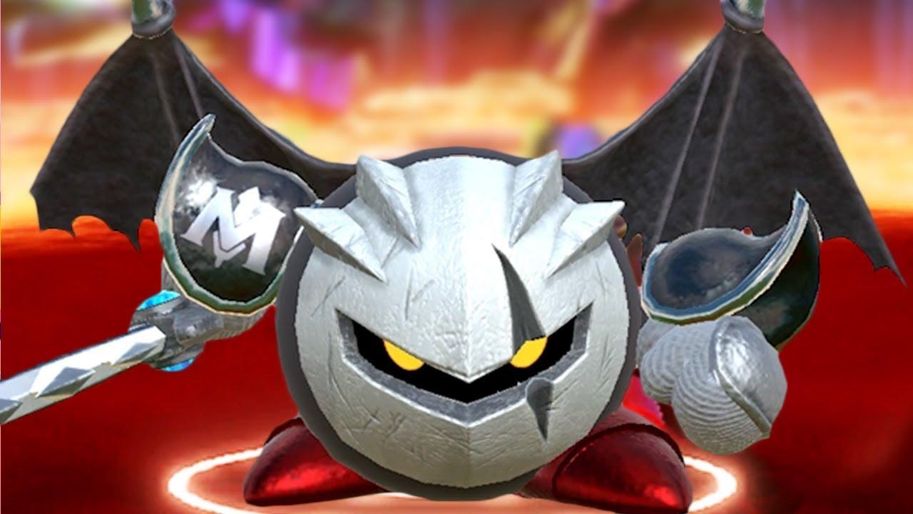 Kirby Star Allies True Final Boss DARK META KNIGHT + Ending & Easter Egg (Alternate Theme / Stage)