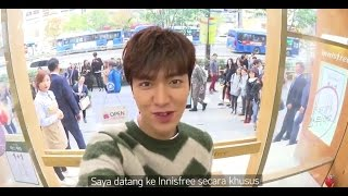 Download Video 20161021【OFFICIAL】LEE MIN HO's innisfree Promotional AD - Shopping tour with Minho in Gangnan store MP3 3GP MP4