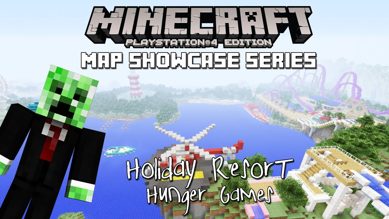 Minecraft PS4: Holiday Resort Download - MCPS4Download