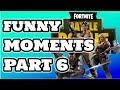 WHEN THE TEACHER ASKS YOU A QUESTION & NO RESPONSE?! - Fortnite Funny Moments Part 6
