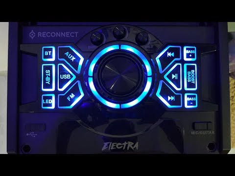 Reconnect Electra - Best Affordable Sound System - 2017 (UnBoxing n Review)