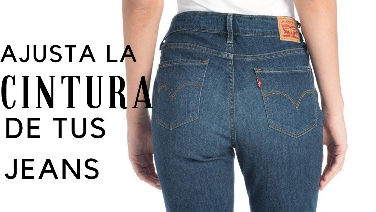 Estrechar La Cintura De Tus Pantalones 2 Metodos Faciles Youtube