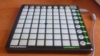 Настройка Launchpad для FL Studio (первое видео)