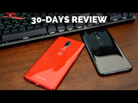 OnePlus 6: 30-days Review!