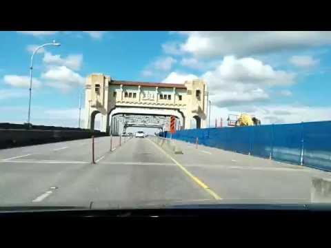 Drive from Stanley Park through downtown Vancouver.
