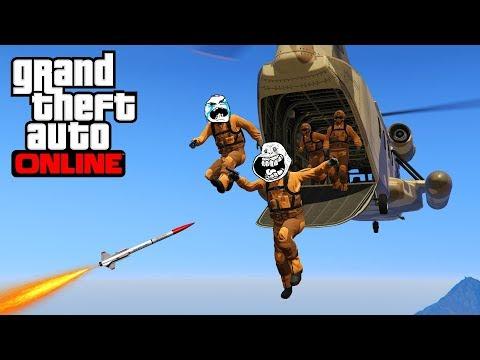 Nouveau jeu dangereux ! Battle Royale GTA 5