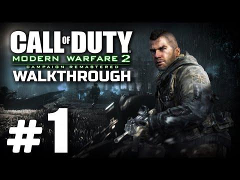 Прохождение Call Of Duty: MW2 Remastered — Часть #1: Д.Д.Б.Т. / КОМАНДНЫЙ ИГРОК / СКАЛОЛАЗ