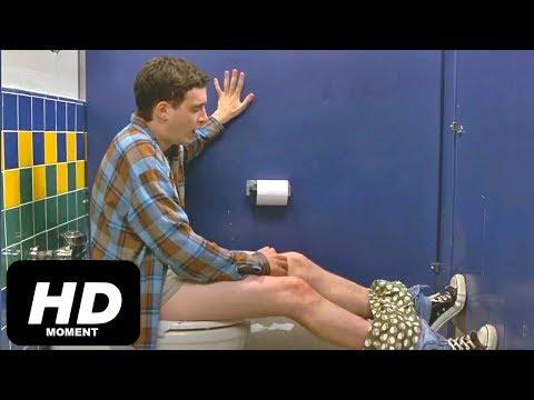 Смешной момент из фильма Американский пирог, слабительное