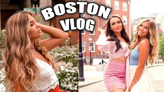 Boston Vlog! (Day in the life of)