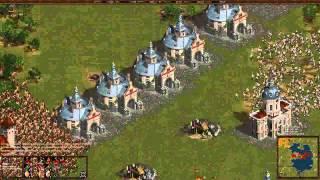 Казаки Снова Война Cossacks Back to War Онлайн с vnucha и Daniel