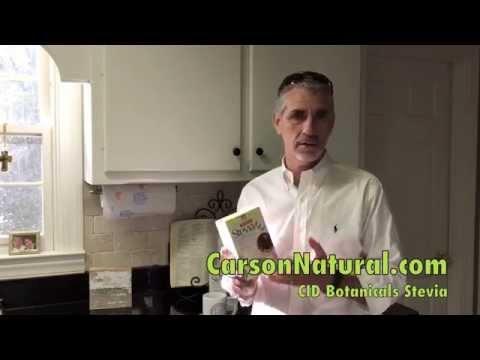 Dr. Phil Carson Product Review #1 - CID Botanicals Stevia