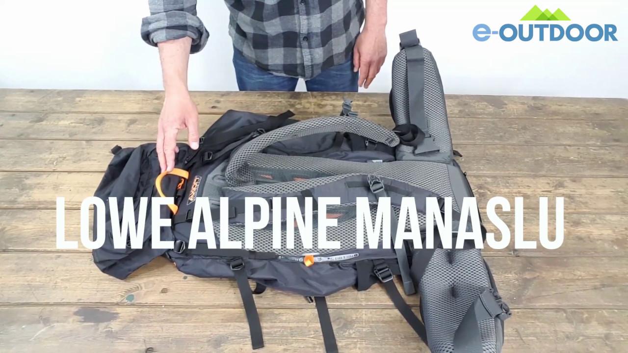 Lowe Alpine Damen Manaslu Nd 55//65 Rucksack