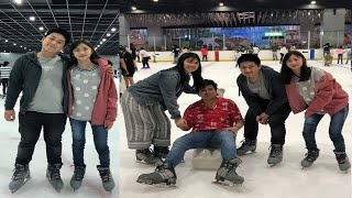 VLOG#5: SM MOA ICE SKATING FT. ANGELICA AND ELGIN