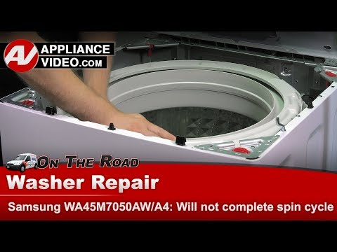 Samsung Washer - Suspension issues - Diagnostic & Repair