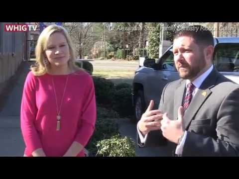 Wilson Chamber of Commerce Ribbon Cutting for Dr.Alexandria's Family Dentistry