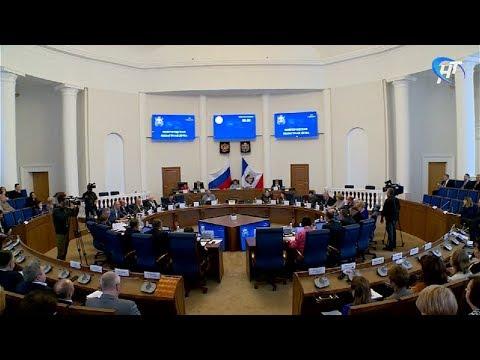 Депутаты обсудили прямые выборы мэра Великого Новгорода, распределение финансов и льготные лекарства