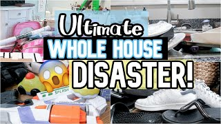 Messy House Clean With Me 2019 | All Day Whole House Cleaning | SAHM Motivation