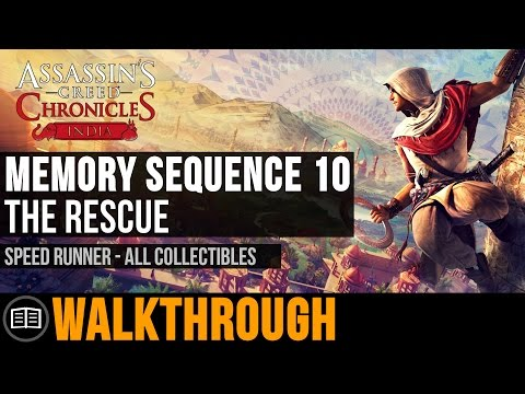 Assassin's Creed Chronicles: India - Memory Sequence 10: The Rescue (Speed Runner) (Ending)