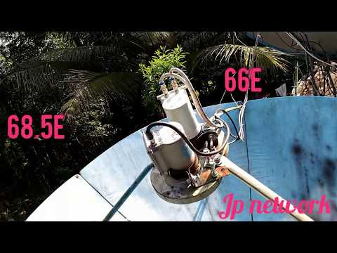Intelsat 17 @ 66E & Intelsat 20 @ 68.5E - Freedish Multi lnb Installation