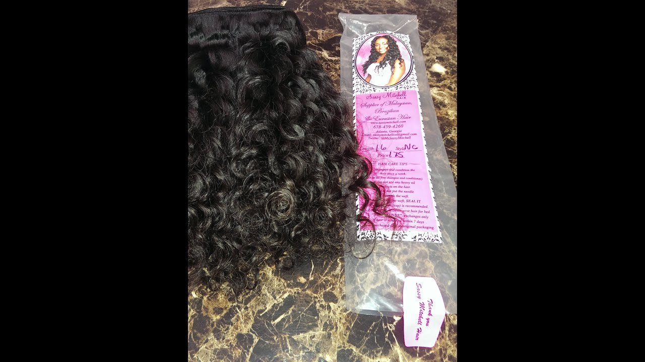 Sassy Mitchell Hair Review Brazilian Tight Curl Youtube