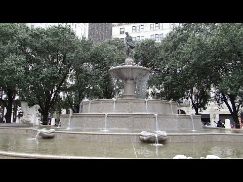 New York, New York - Grand Army Plaza / Pulitzer Fountain HD (2014)