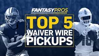 Week 6 Waiver Wire Pickups (2019 Fantasy Football)