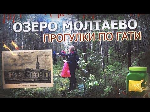 Озеро Молтаево, заброшенный санаторий и сапропель высшего качества.
