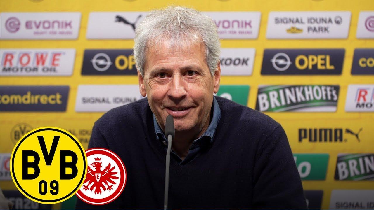 Pressekonferenz vor Eintracht Frankfurt