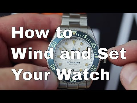 Winding And Setting Your Automatic Watch