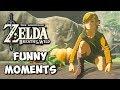 Zelda Breath of the Wild Funny Moments: Halloween Rap - Chocolate Milk Gamer