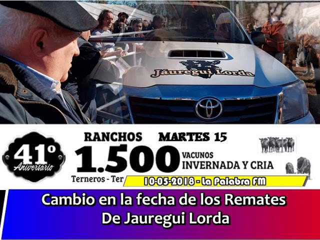 Nota al representante de Jauregui Lora en Ranchos Mario Gerbelli