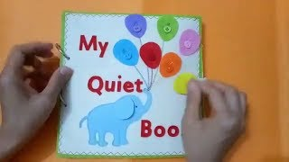 Quiet book for kid - Skill practice book 12/felt book/ busy book