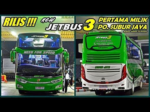 Keren Abis Rilis Perdana Subur Jaya Jetbus 3 Shd Nyala Lampu Sein Nya Seperti Mobil Sport