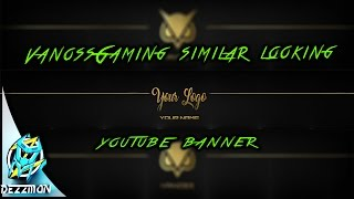 VanossGaming Similar looking Banner Template