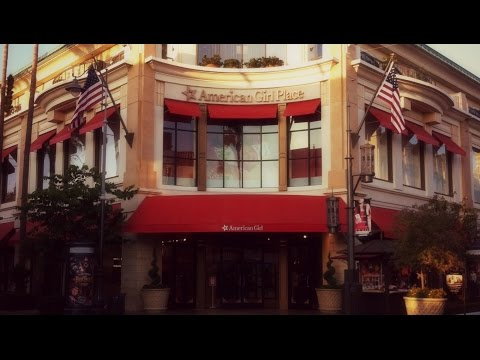 American Girl Store Tour; Los Angeles, CA