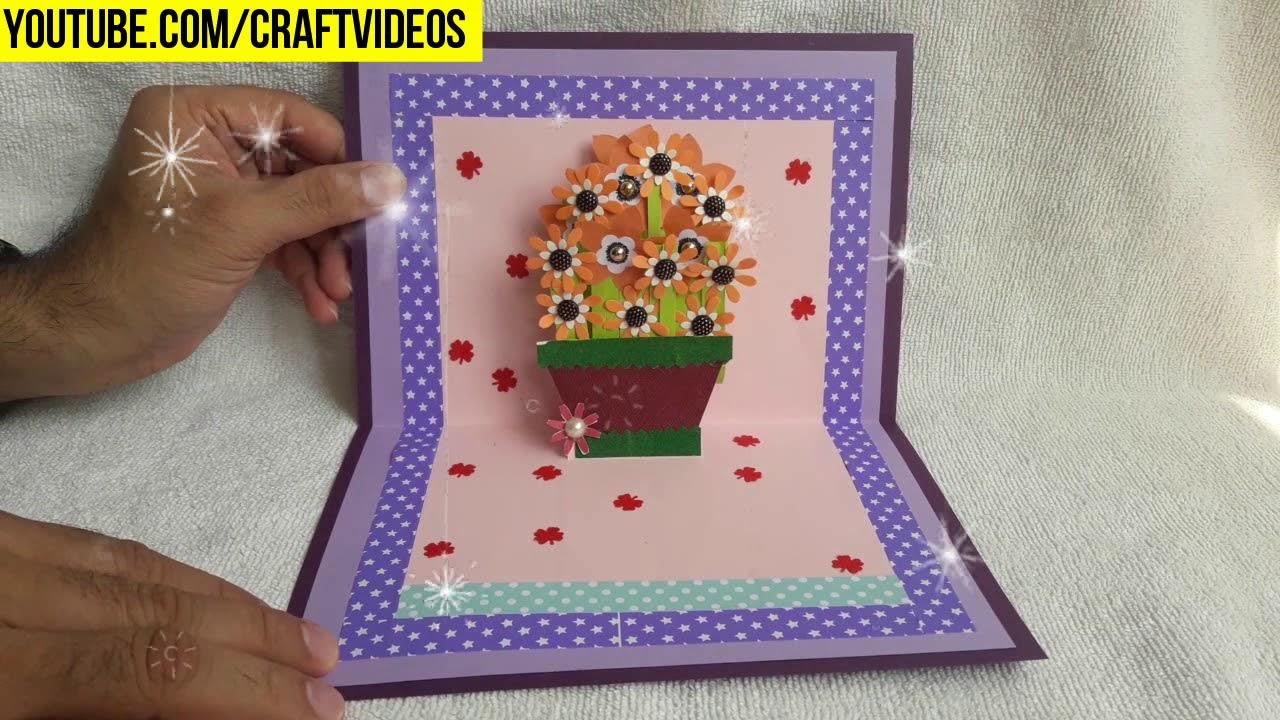Card Making Ideas Youtube Part - 15: Teachers Day Pop Up Card Making Ideas - Teaser