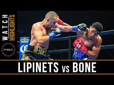 Lipinets Vs Bone Highlights: PBC On FOX - August 4, 2018