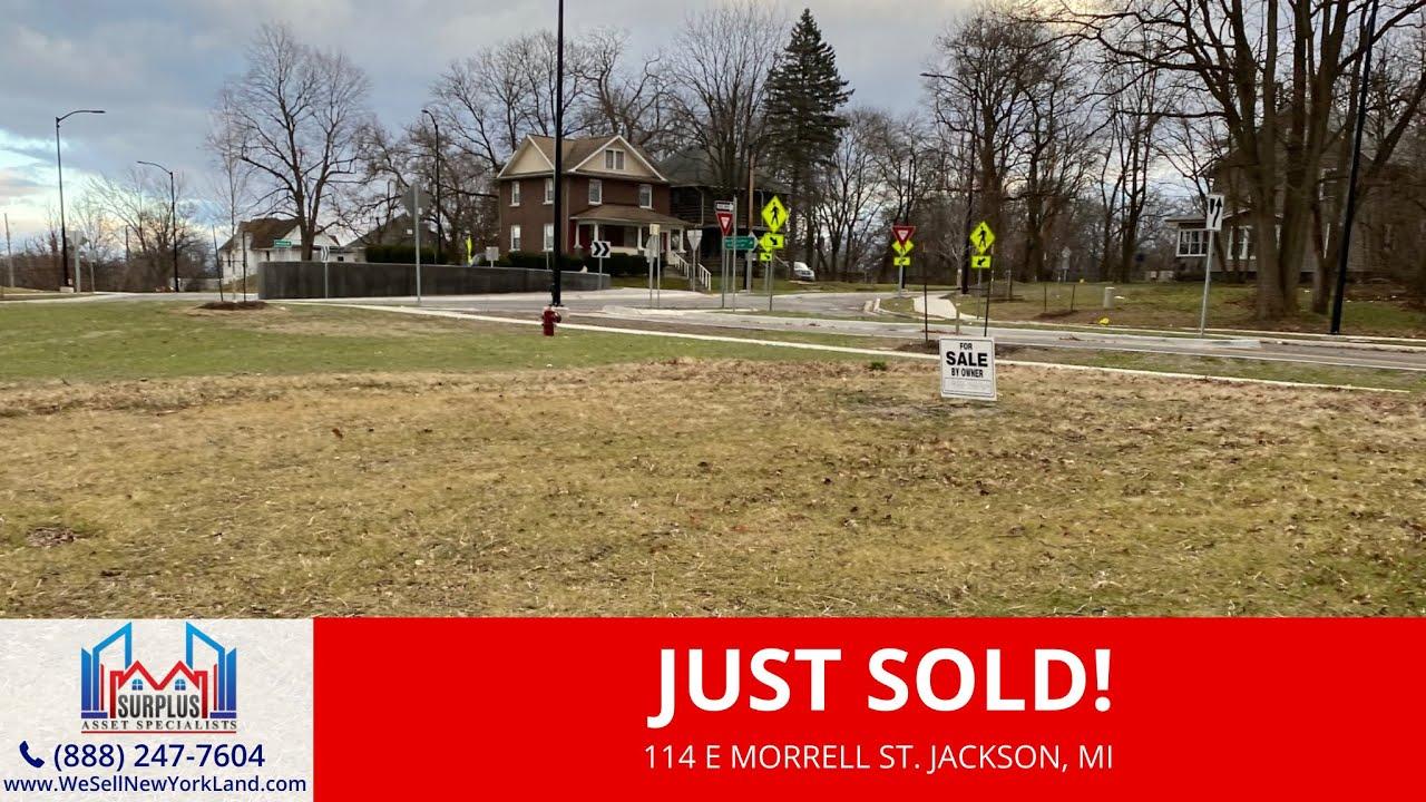 114 E Morrell St Jackson, MI - Wholesale Land For Sale Michigan - www.WeSellNewYorkLand.com