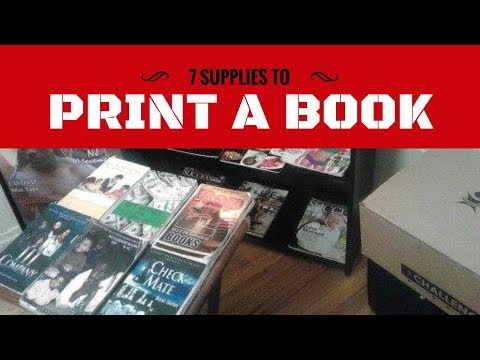 How to print your book at home with Mr. Publisher