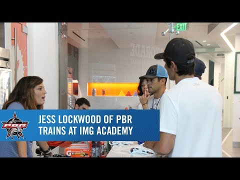 Jess Lockwood of PBR talks about his time training at IMG Academy