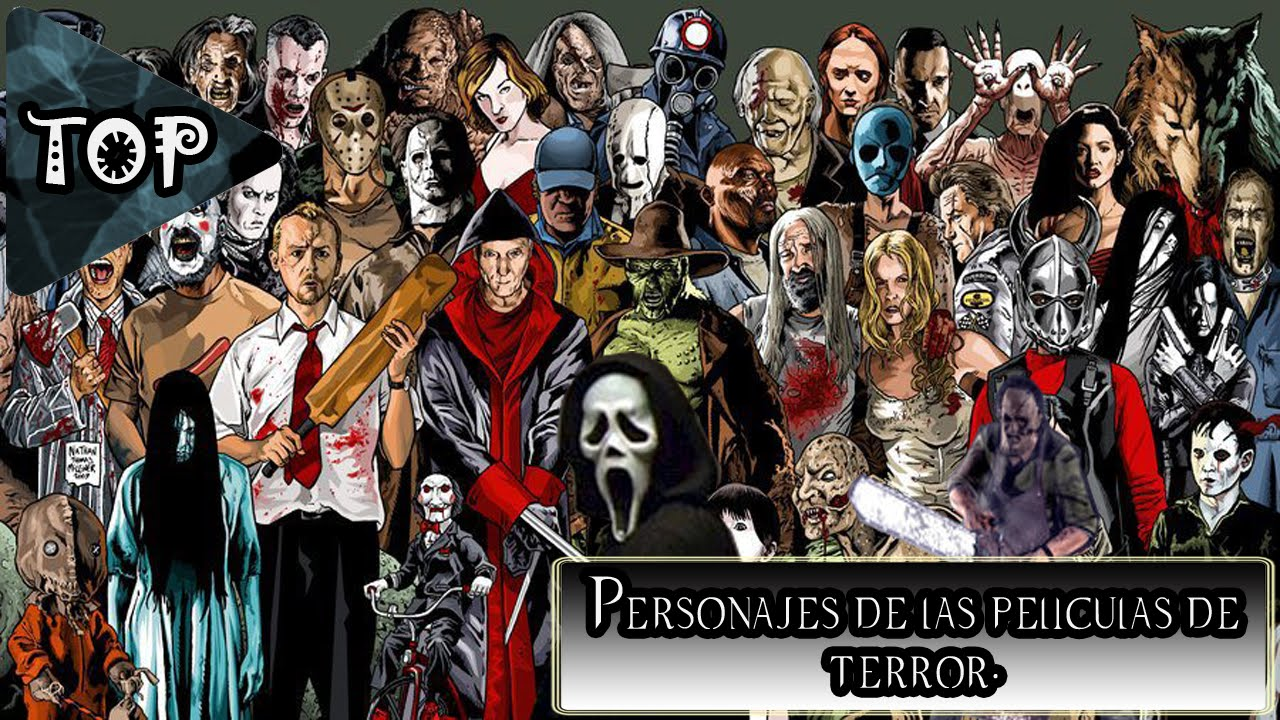 top10 personajes de las pel culas de terror youtube. Black Bedroom Furniture Sets. Home Design Ideas