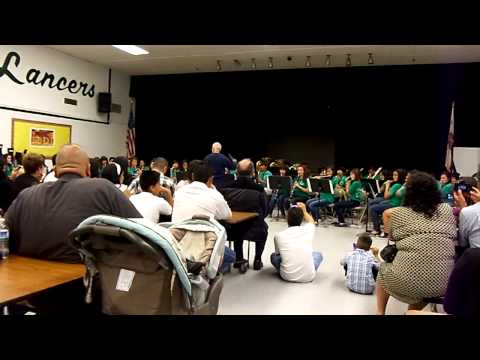 North Park Middle School Band 2012! Part 3