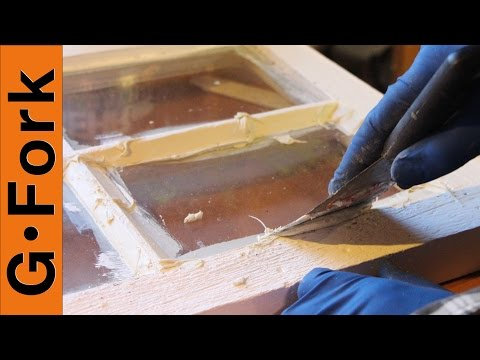 How to Repair Window Glazing - GardenFork